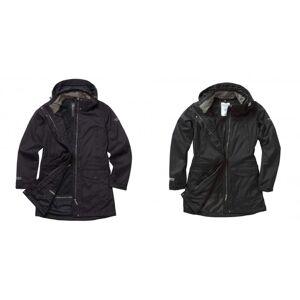 Craghoppers kvinners/damer ekspert Kiwi lang jakke Svart 18 UK