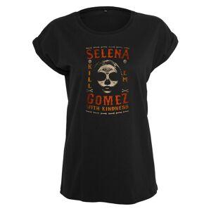 Urban Classics Urban klassikere damer T-Shirt Selena Gomez drepe em skallen