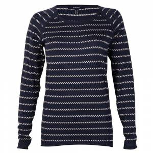GANT Ocean Safari Sailor Stripe Damer Genser Klassisk blå L