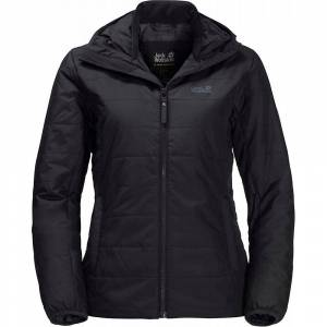 Jack Wolfskin Women's Park Avenue Jacket - Black L