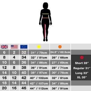 Craghoppers Womens eventyr bukser Ørkensand 16