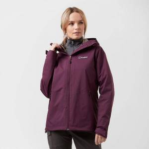 Berghaus New Berghaus Women's Stormcloud Gemini Walking Hiking 3in1 Jacket P...
