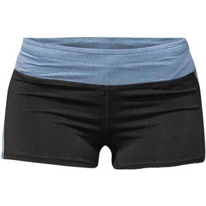 Bad Girl Logo Shorts - Black/Blue Marl S