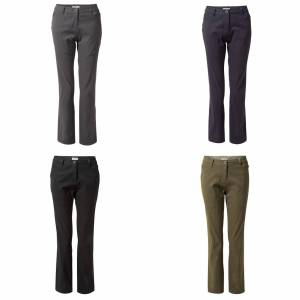 Craghoppers kvinners/damer Kiwi Pro bukser Platina 12L UK