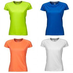 Tee Jays kvinners/damer kule tørr kort erme t-skjorte Navy Melange XL