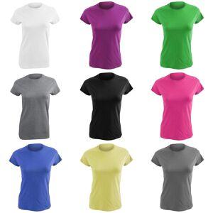 Gildan damer myk stil kort erme t-skjorte Heather lilla M