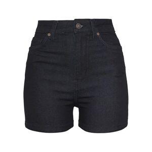 Urban Classics Urban klassikere damer høy midje denim tynn shorts
