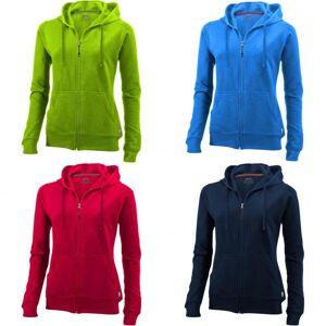 Slazenger kvinners/damer åpen hele Zip hette damer genser Rød XL
