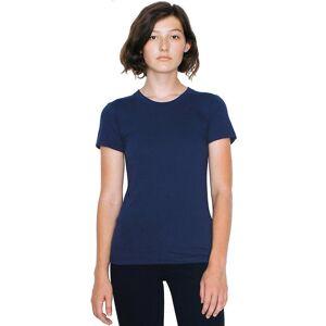 American Apparel Womens/Ladies Fine Jersey Short Sleeve Cotton T-Sh...