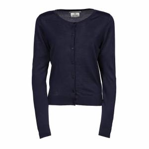 Tee Jays kvinners/Ladies strikket knappen opp Cardigan Marineblå L