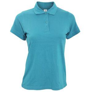 B&C B & C Safran ren damer kort ermet Polo skjorte Svart L