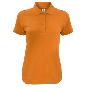 B&C B & C kvinners/damer Safran tidløse Polo skjorte Orange gresskar L