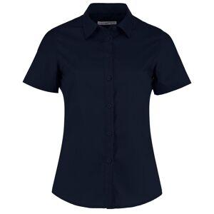 Kustom Kit Kustom orientert Kit kvinners/damer kort ermet Poplin skjorte Royal 20