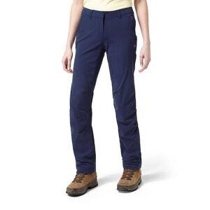 Craghoppers Kiwi kvinners/damer Pro Lite strekk Trail bukser Natt blå 8