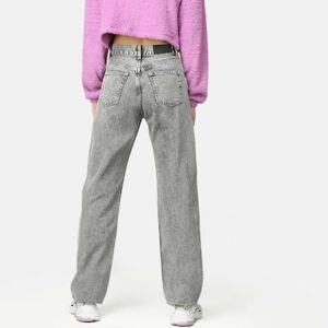 JUNKYARD Jeans - Straight Off Grå Female S