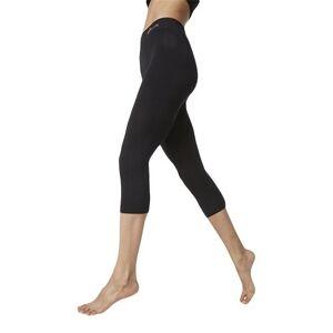 Boody Leggings 3/4 Sort Str. L - 1 stk