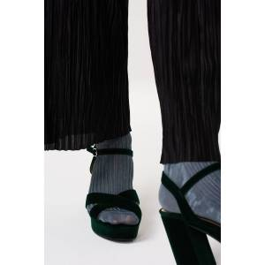 ''Gina Tricot'' ''Fiona platform sandals'' Female Green