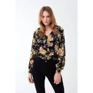 Gina Tricot Maddy frill blouse