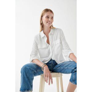 Gina Tricot Stina shirt Female Offwhite