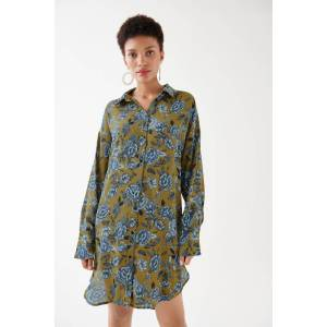 Gina Tricot Molly tunic 44 Female Green/aop