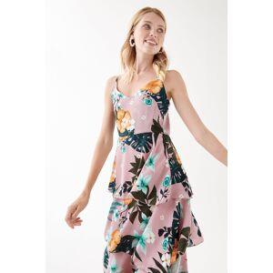 Gina Tricot Anna strap dress Female Soft flower aop (9551)