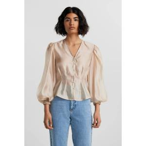 Gina Tricot Abby organza blouse