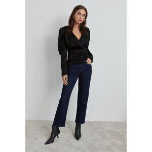 Gina Tricot Terra blouse Female Black (9000)