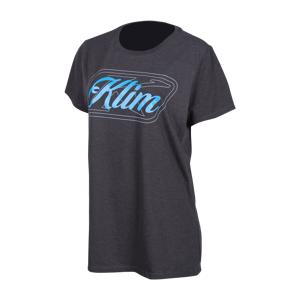 KLIM T-Skjorte Klim Kute Corp Dame Svart-Blå