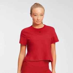 Myprotein MP Women's Essentials Kort T-skjorte – Skarp rød - L