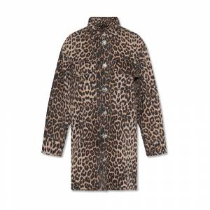 AllSaints Lily shirt with animal motif
