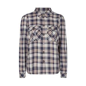 Co'Couture Uni Check Puff Shirt