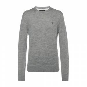 AllSaints 'Mode' Logo-embroidered sweater