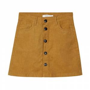 name it Taby Cord A-Shape Skirt