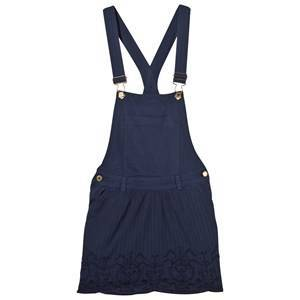 Scotch R'belle Blue Lace Trim Dungarees Dress 16 years