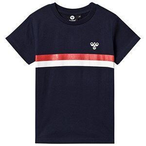 Hummel Kristian T-Shirt Black Iris 140 cm (9-10 r)