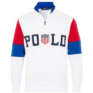 Polo Ralph Lauren Half Zip Sweater White