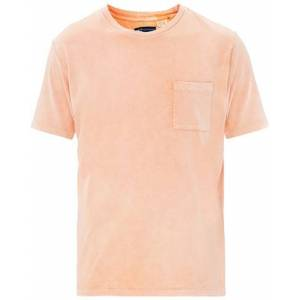 Levi's Made & Crafted Crew Neck Pocket Tee Washed Orange