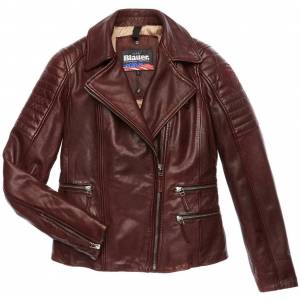 Blauer USA Icon Skinn jakke Brun S