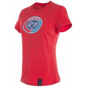 Dainese Moto72 Ladies t-skjorte Rød S