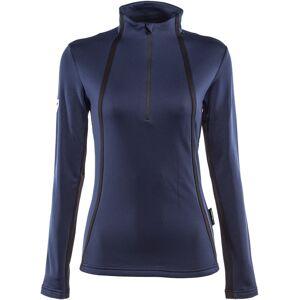 Dainese HP2 Mid Half Zip Ladies funksjonelle skjorte Blå XS