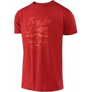 Troy Lee Designs Widow Maker T-skjorte Rød M