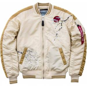 Alpha Industries MA-1 Souvenir Ladies jakke Beige M