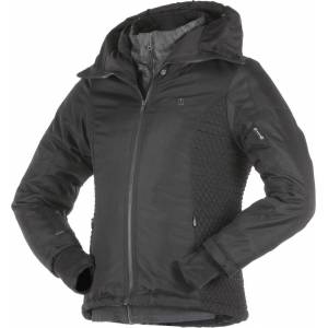 Overlap Laia Ladies motorsykkel tekstil jakke Svart XL