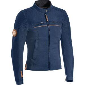 Ixon Breaker Ladies motorsykkel tekstil jakke Blå M
