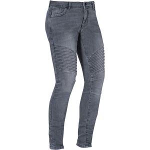 Ixon Vicky Damer Motorsykkel Jeans Grå XL