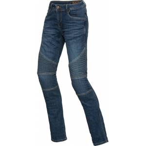 IXS Classic AR Moto Ladies motorsykkel Jeans bukser 30 Blå