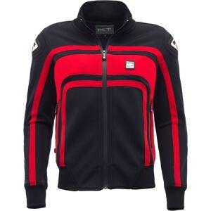 Blauer Easy Rider Ladies motorsykkel tekstil jakke XS Svart Rød