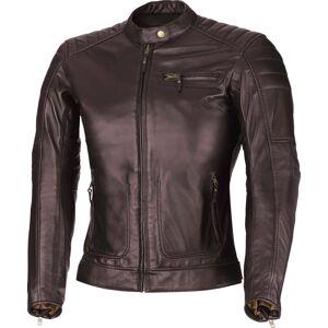 Büse Chester Ladies motorsykkel skinnjakke 38 Brun