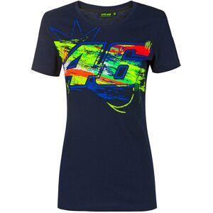 VR46 Winter Test Ladies T-skjorte XL Blå
