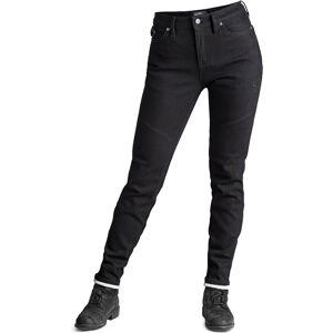 Pando Moto Kissaki Black Ladies Motorsykkel Jeans 32 Svart